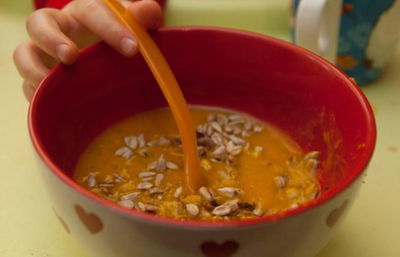 Zupa dyniowa dla małych i dużych...