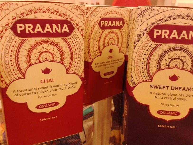 Organiczne herbatki Praana:)