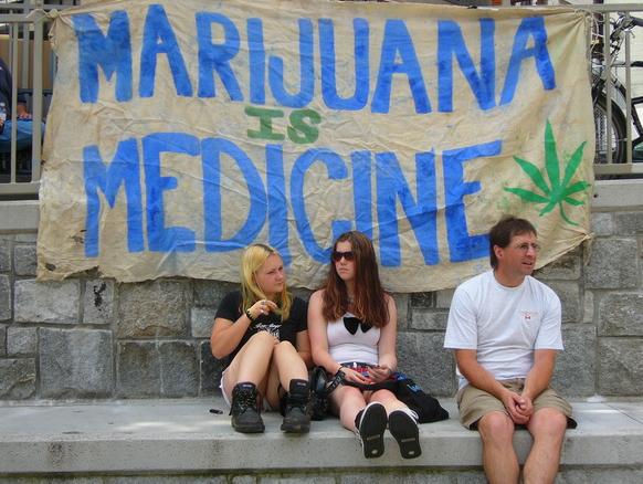 Zielona Wyspa popiera medyczną marihuanę!