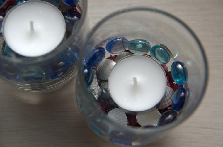 Pomysł na prezent - recyklingowy świecznik!