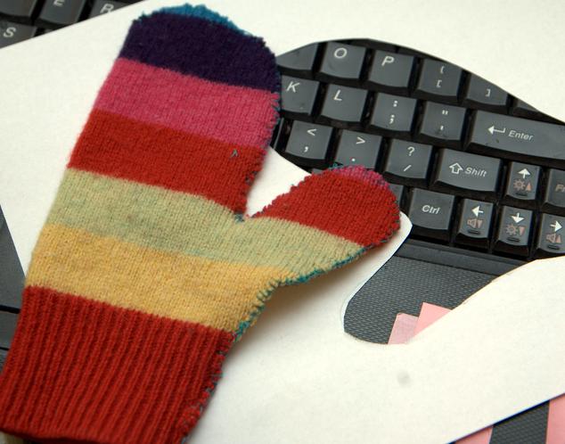 Odrobina fantazji i rękawiczki gotowe!