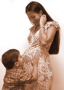 mama w ciąży