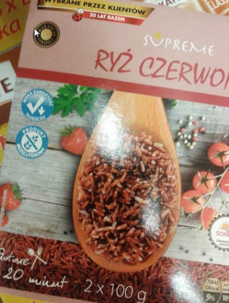 Ryż czerwony, smaczny i zdrowszy od białego.