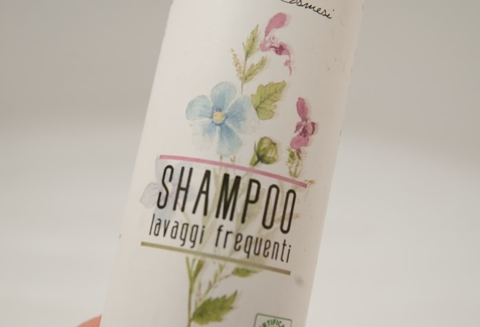 Eko-szampon cruelty free.