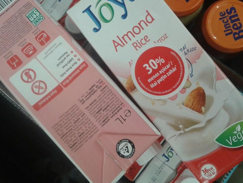 Joya - nowe mleko migdałowo-ryżowe.