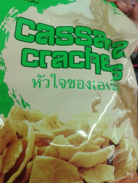 Chipsy z manioka...