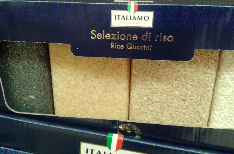 Ciekawe włoskie ryże.