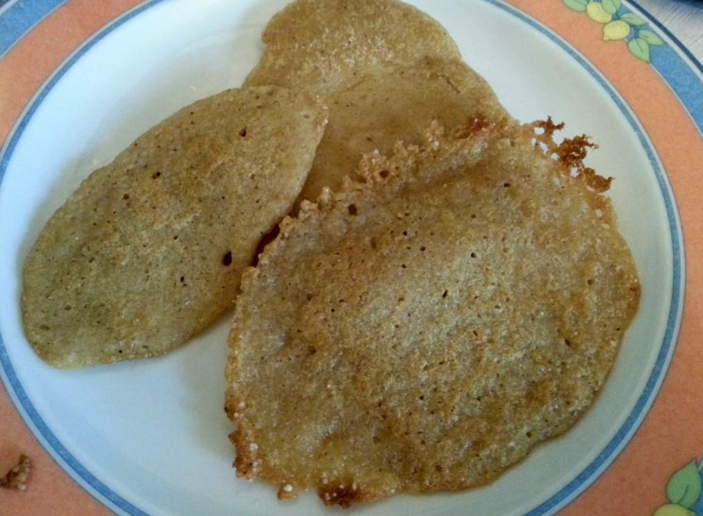 Uttapam - indyjskie, wegańskie, bezglutenowe placuszki
